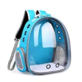 WuLi77 Pet Carrier for Dogs and Cats,Breathable Transparent Capsule Dog Backpack Pet Carrier Backpack for Pets Hiking, Walking, Cycling & Outdoor