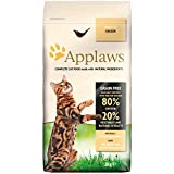 Applaws Complete Natural and Grain Free Dry Adult Cat Food, Chicken, 2 kg Bag