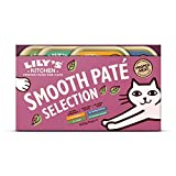 Lily's Kitchen Everyday Favourites Pate - Adult Wet Cat Food (4 Packs x 8 Trays x 85 g)
